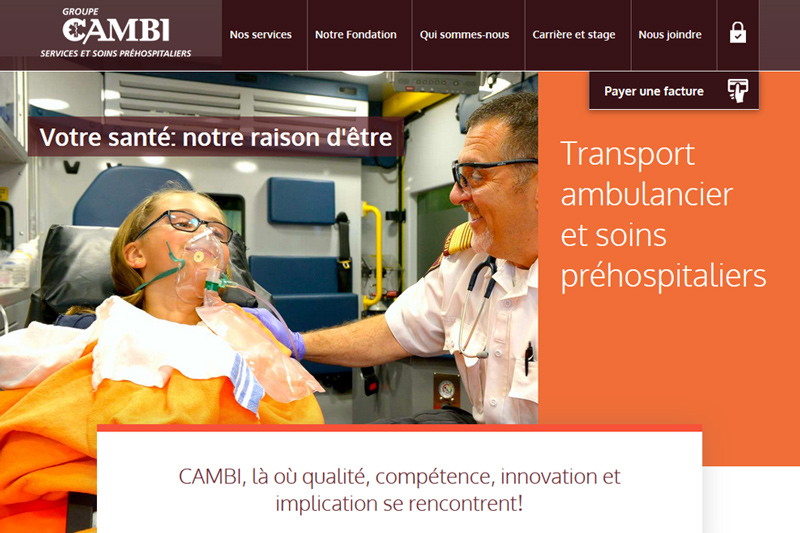 Groupe Cambi Services et soins hospitaliers